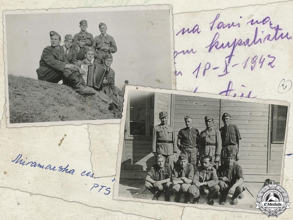 eMedals-Two Second War Ustasha Photos