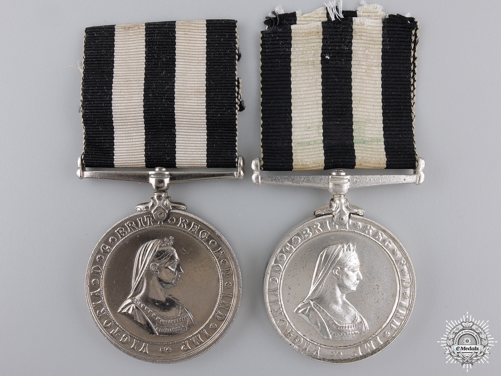 eMedals-Two Service Medals of the Order of St. John