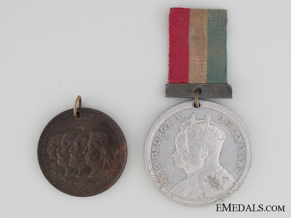eMedals-Two Unofficial British Jubilee Medals