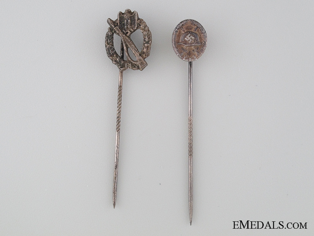 eMedals-Two WWII German Stickpins