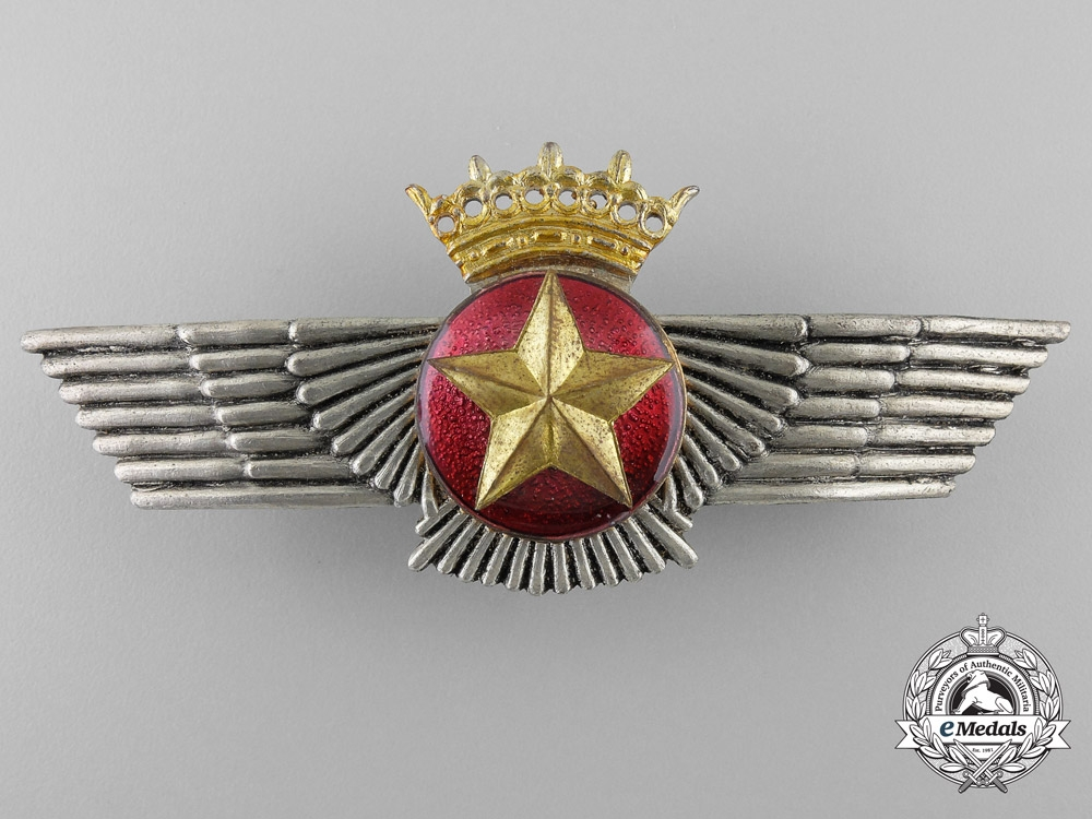eMedals-A Spanish Franco Era Air Force Observer's Wings