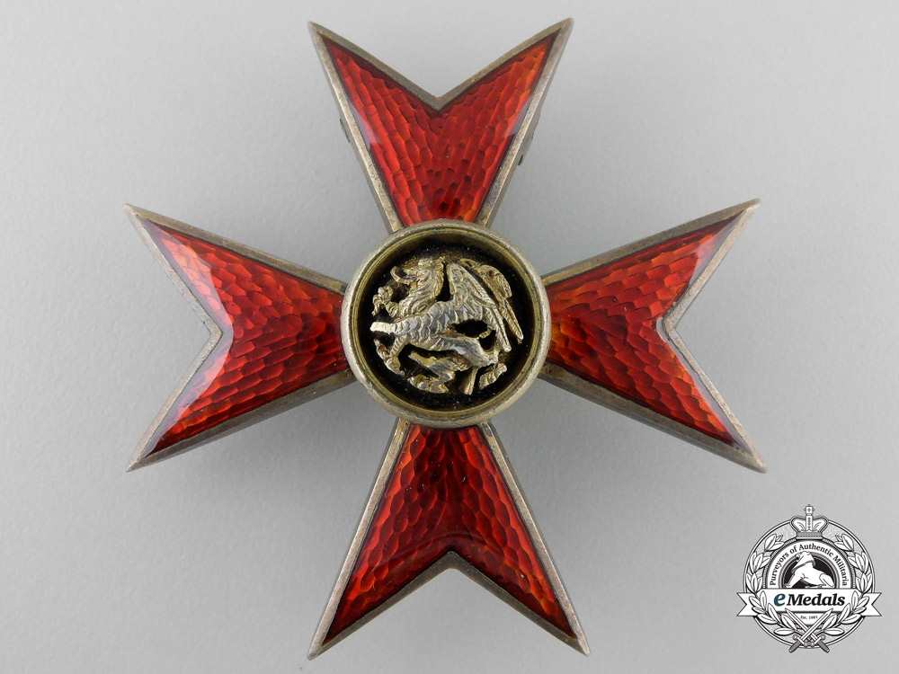 eMedals-Germany, Mecklenburg. An Order of the Griffin by H. Rose; Officer's Cross