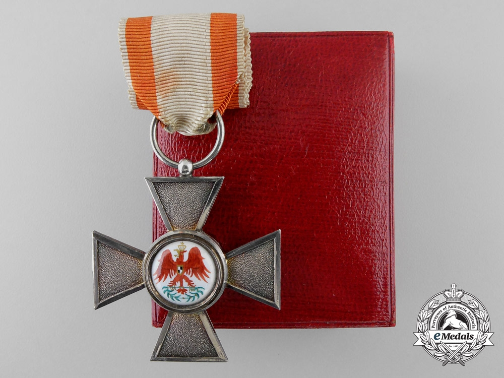eMedals-A Prussian Order of the Red Eagle; 4th Class with Case