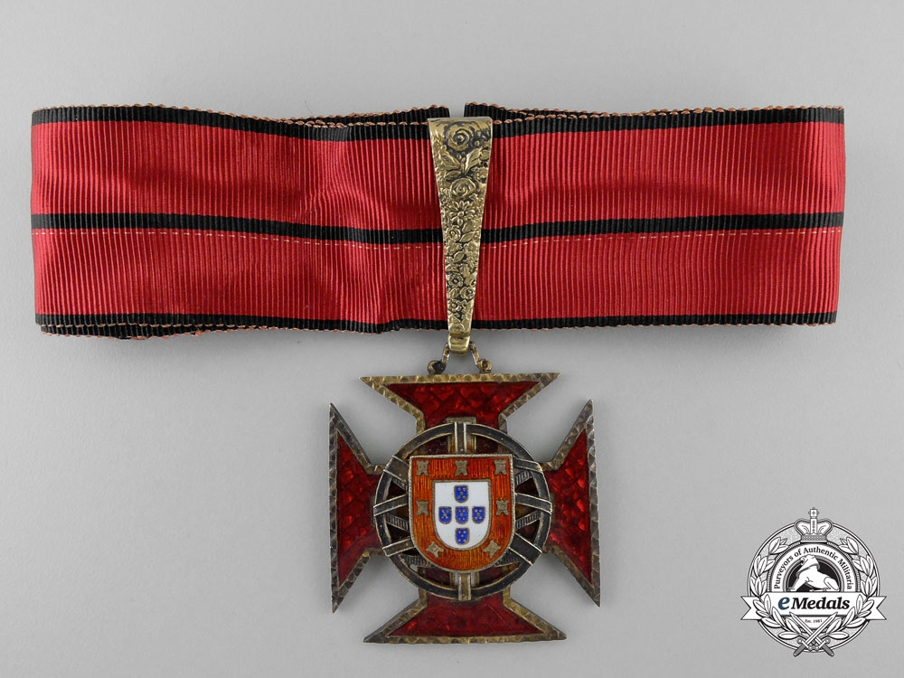 eMedals-An Portuguese Imperial Order; Commander's Cross