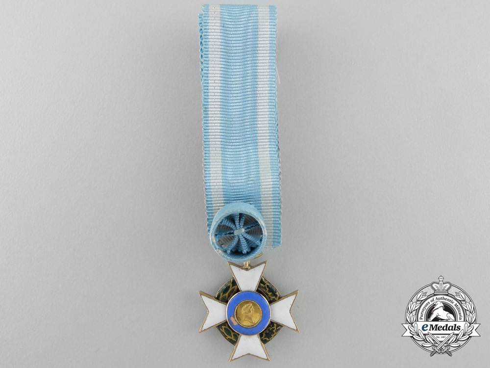 eMedals-Greece, Kingdom. A Royal Order of the Redeemer in Gold, Miniature, c.1865