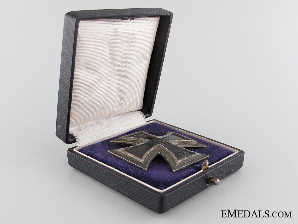 eMedals-Unusual Cased Iron Cross 1st. Class 1914