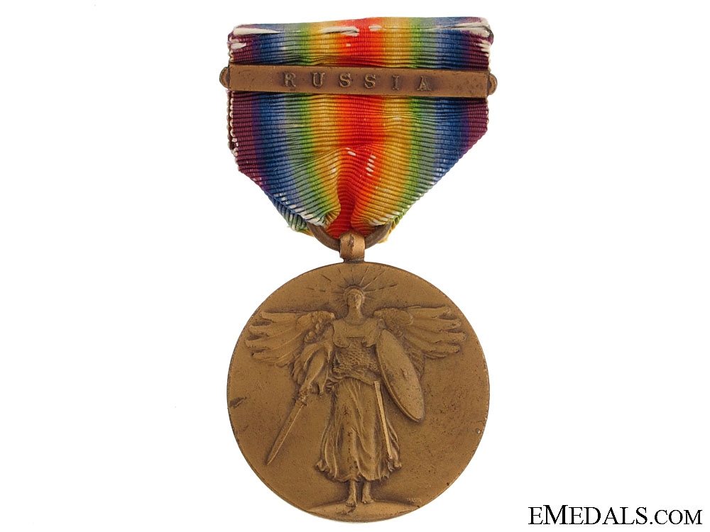 eMedals-US Victory Medal - Russia Clasp