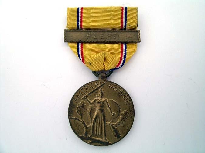 eMedals-American Defense Service Medal 1942
