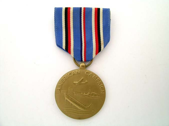 eMedals-American Campaign Medal 1942