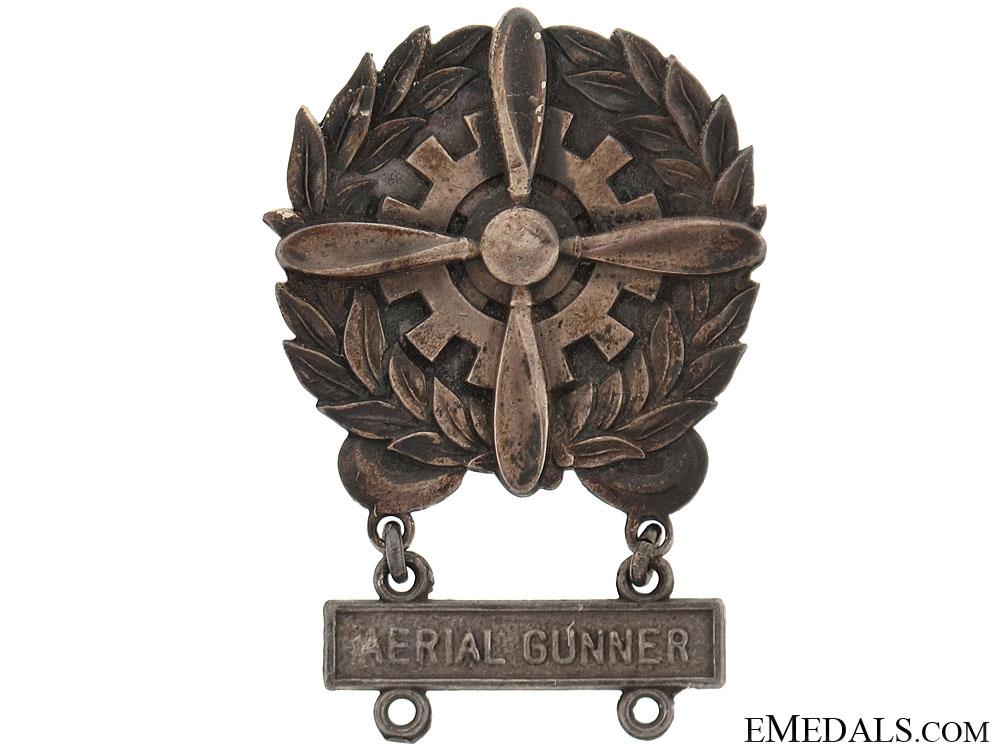 eMedals-Aerial Gunner Badge