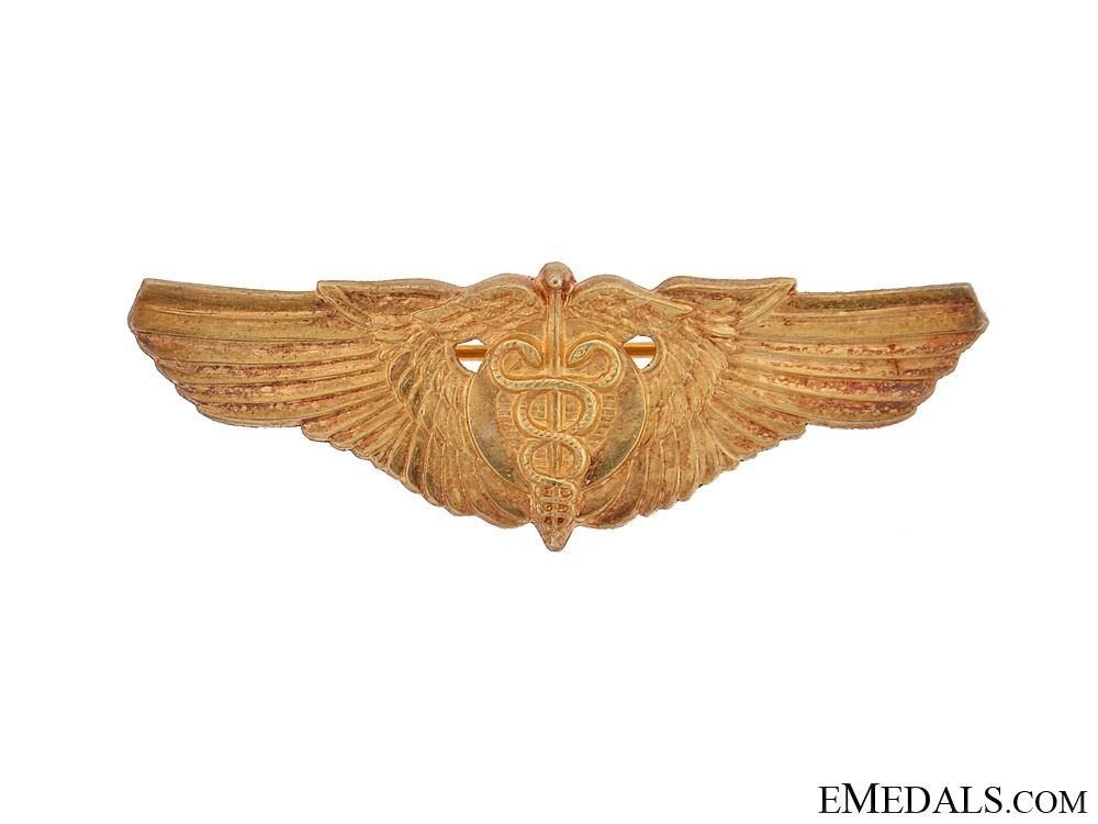 eMedals-WWII USAAF Shirt Flight Surgeon Wing
