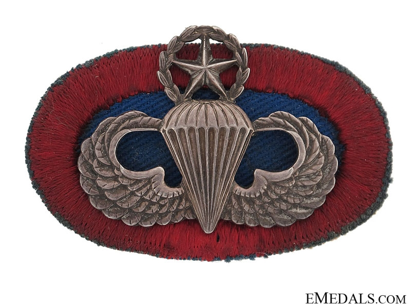 eMedals-Parachutist Master Wing