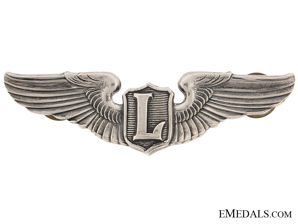 "eMedals-Second War ""L"" wing for Liaison Pilot"