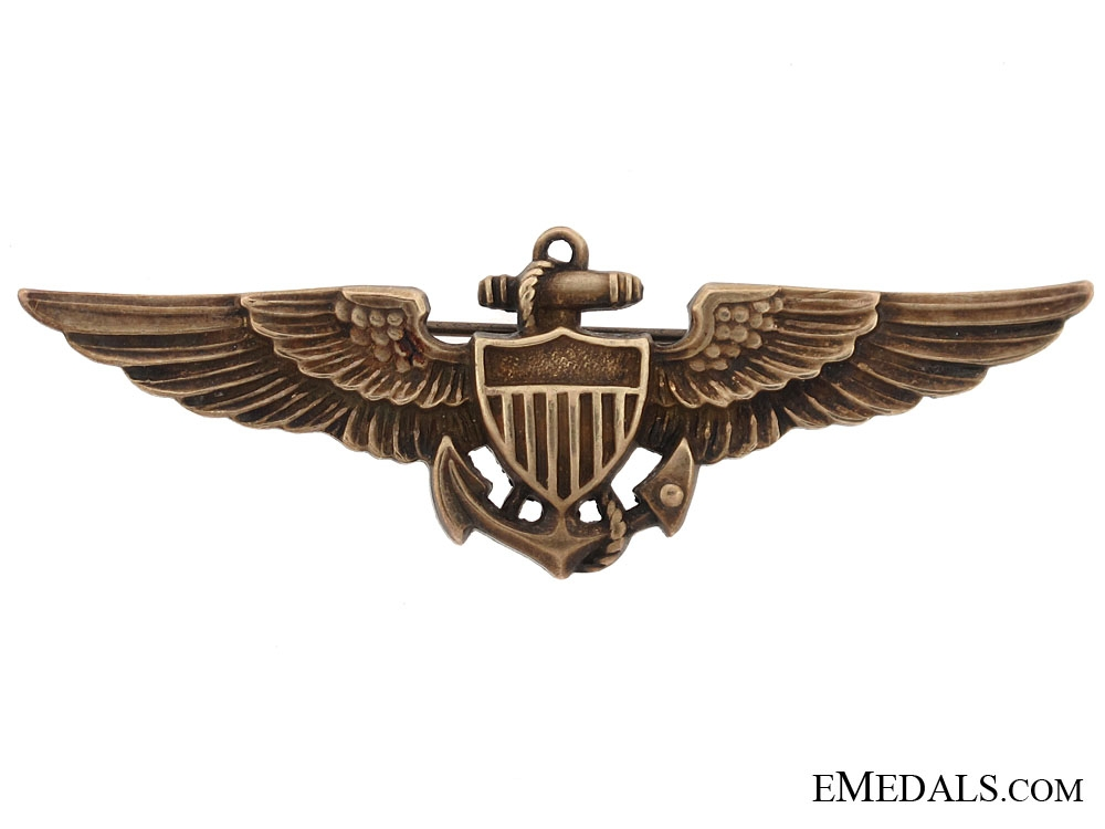 eMedals-1930s US Navy Pilot Wing