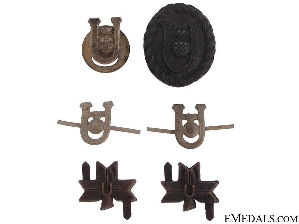 eMedals-Ustasha Badges & Insignia