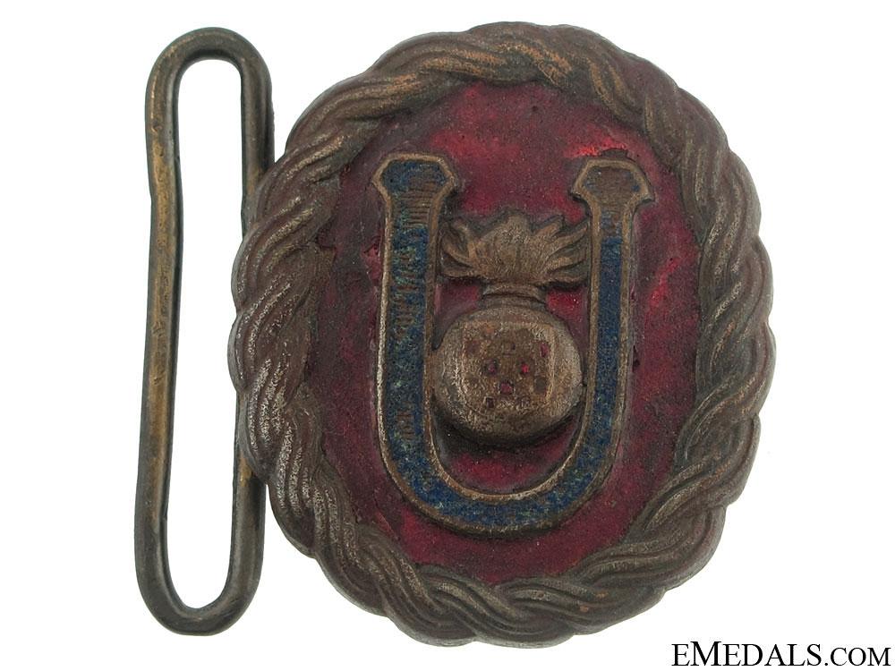 eMedals-Ustasha Officer's Belt Buckle