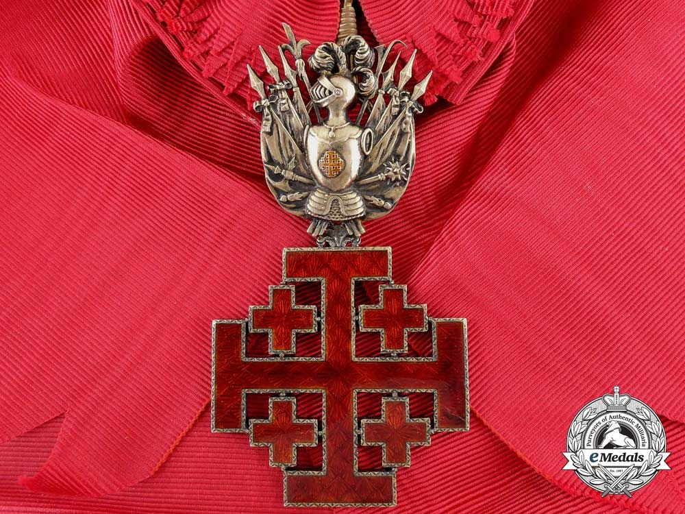 eMedals-An Order of the Holy Sepulchre; Grand Cross
