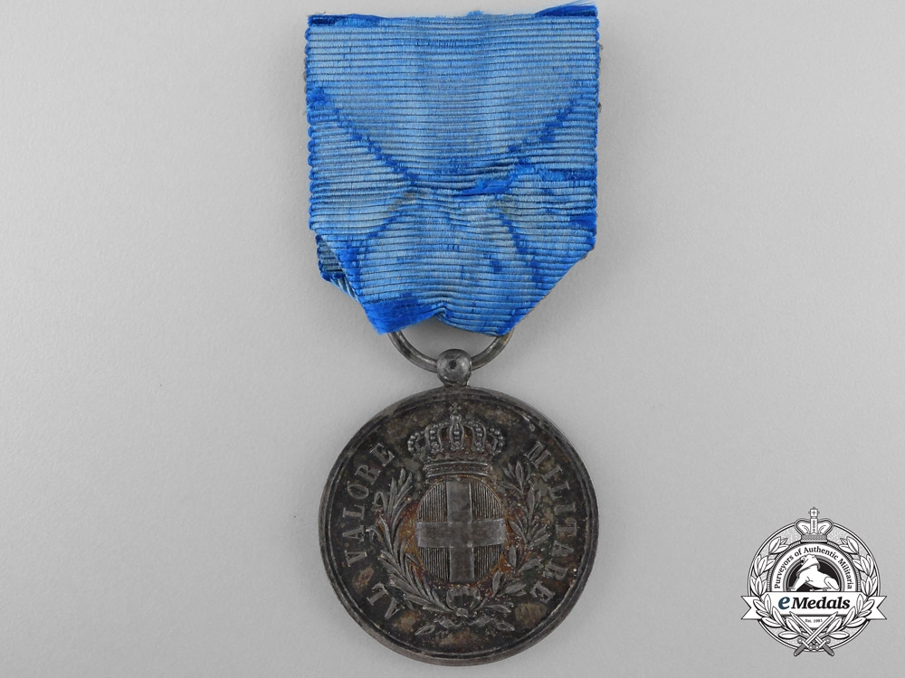 eMedals-Italy, Kingdom. An Al Valore Militare Medal, Austrian War Issue 1859