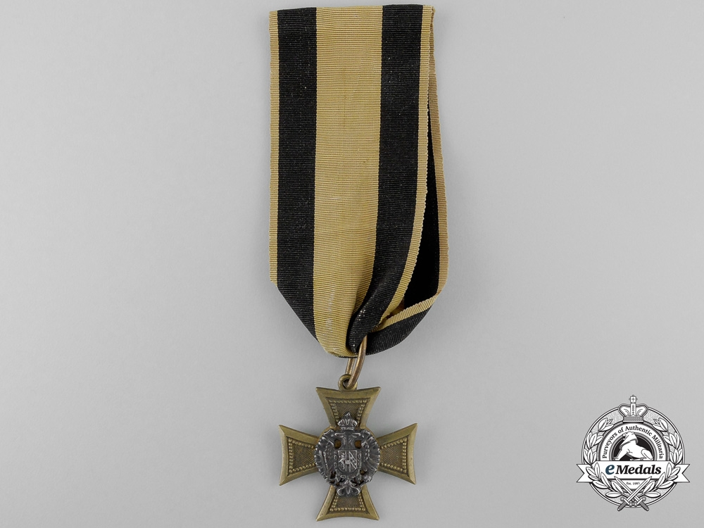 eMedals-Austria, Imperial. An Officer's Long Service Cross for 25 Years, c.1860