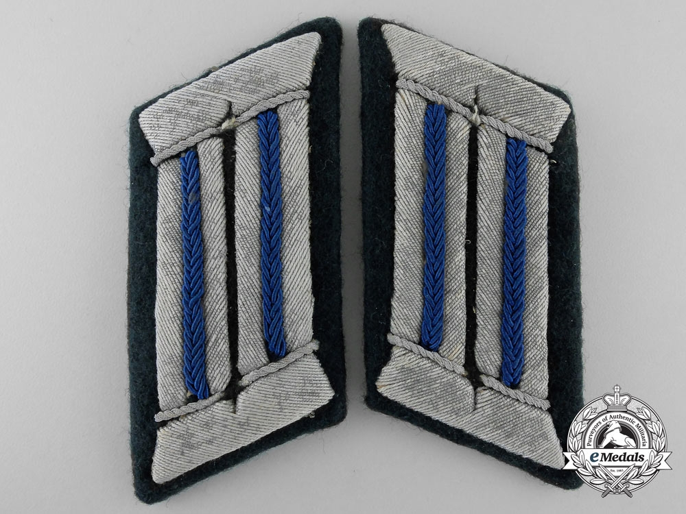 eMedals-A Set of German Army Medical Collar Tabs