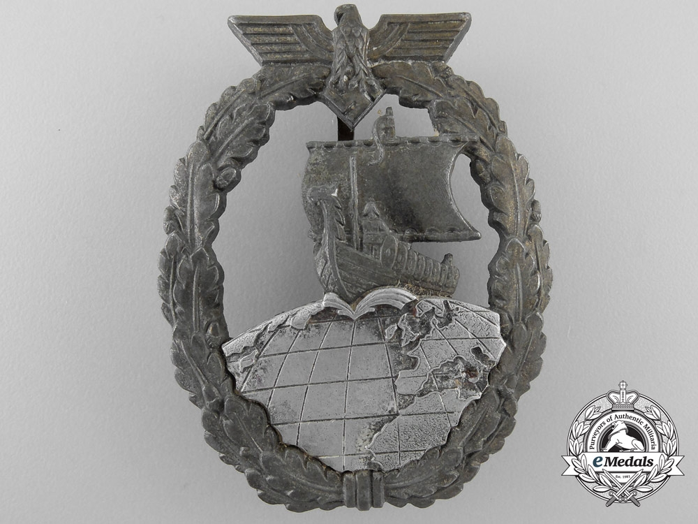 eMedals-An Auxiliary Cruiser War Badge by Schwerin, Berlin