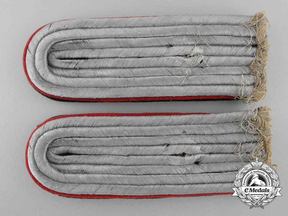 eMedals-Germany, Heer. A Set of Army Administration Shoulder Boards