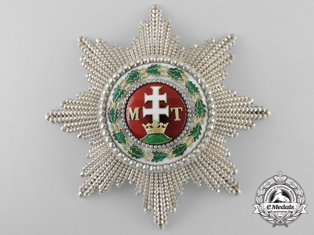 eMedals-A Superb Order of St. Stephen by Rothe c.1860