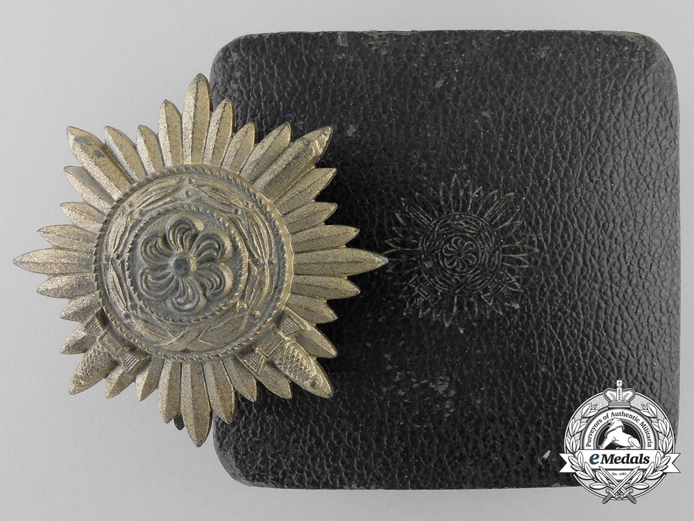 eMedals-A First Class Ostvolk Bravery Decoration; Gold Grade with Swords & Case