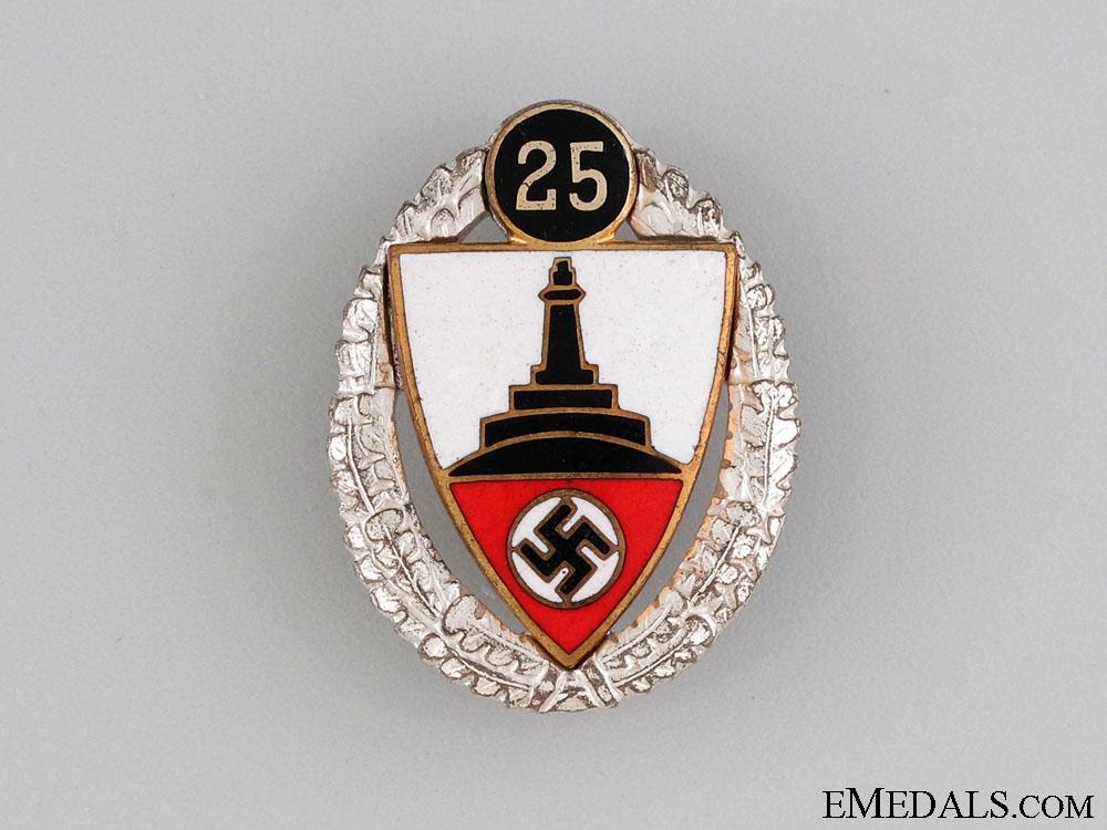 eMedals-Veterans Association 25 Year Membership Badge