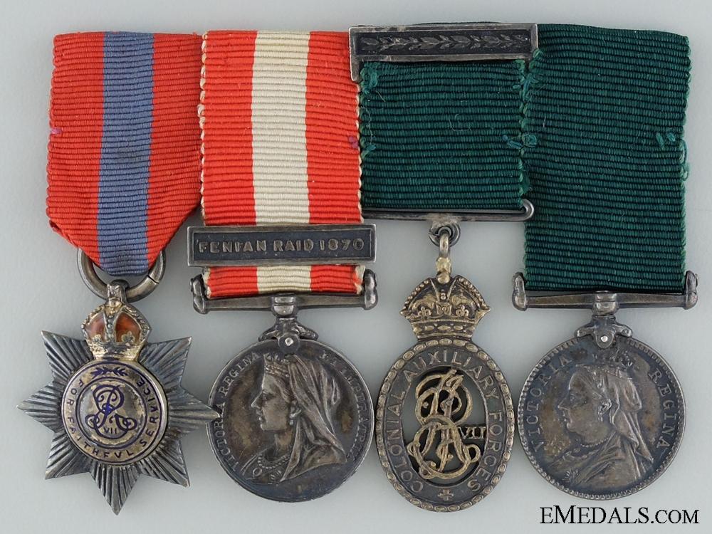 eMedals-Victoria Era Miniatures to Lieutenant-Colonel A.L. Jarvis