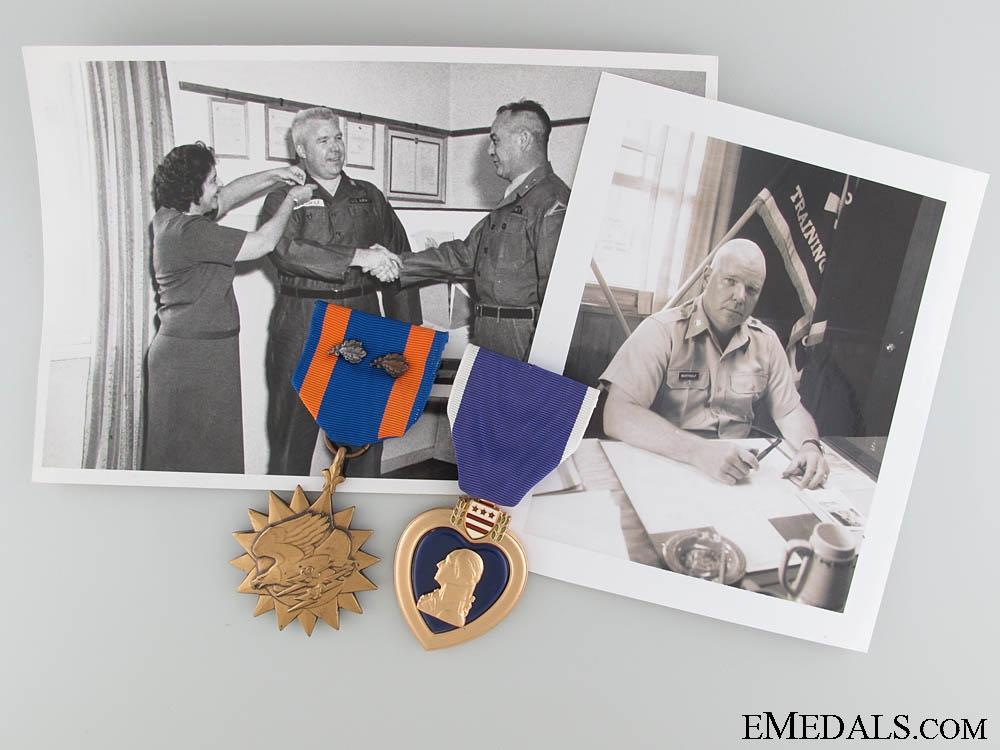 eMedals-Vietnam War Air Medal and Purple Heart Group