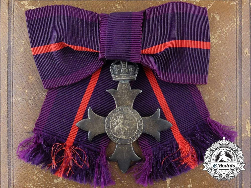 eMedals-A Most Excellent Order of the British Empire; Member (MBE) Military; Ladies