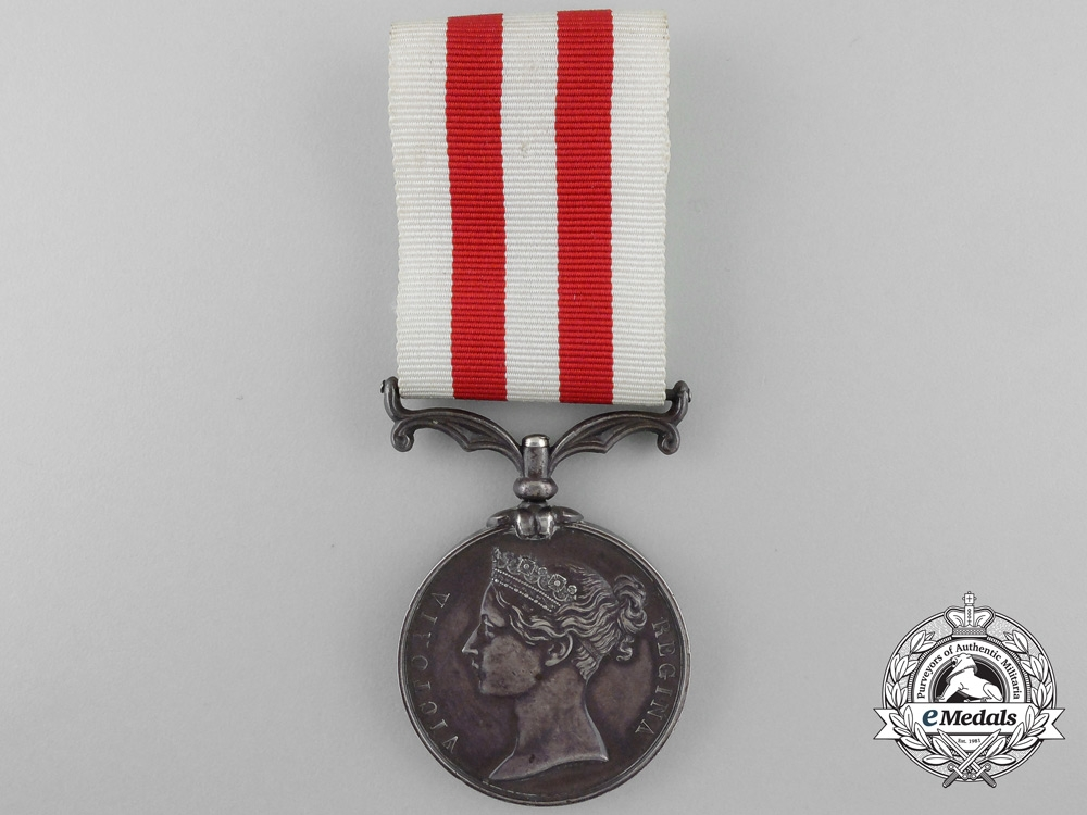 eMedals-An India Mutiny Medal 1857-1858 to Drummer T. Ford; 81st Regiment of Foot