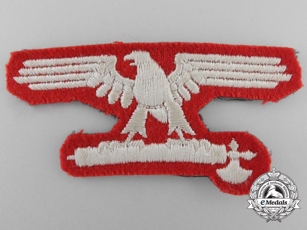 eMedals-Germany. An Italian SS EM/NCO's Sleeve Eagle