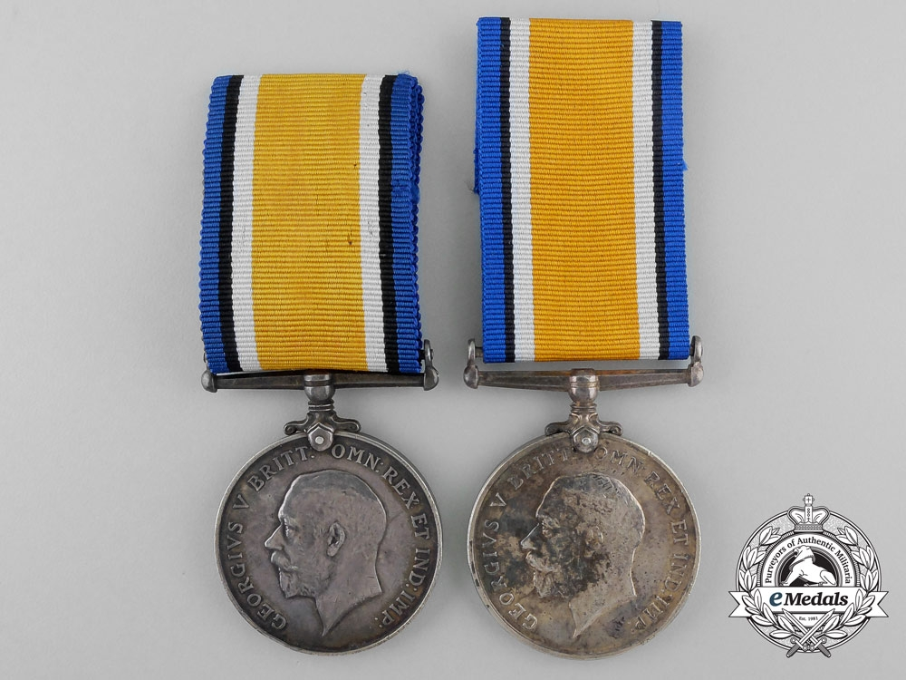 eMedals-Two British Issued First War Medals