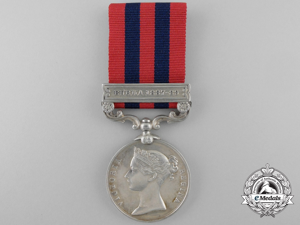 eMedals-An India General Service Medal to the 1st Battalion; Hampshire Regiment