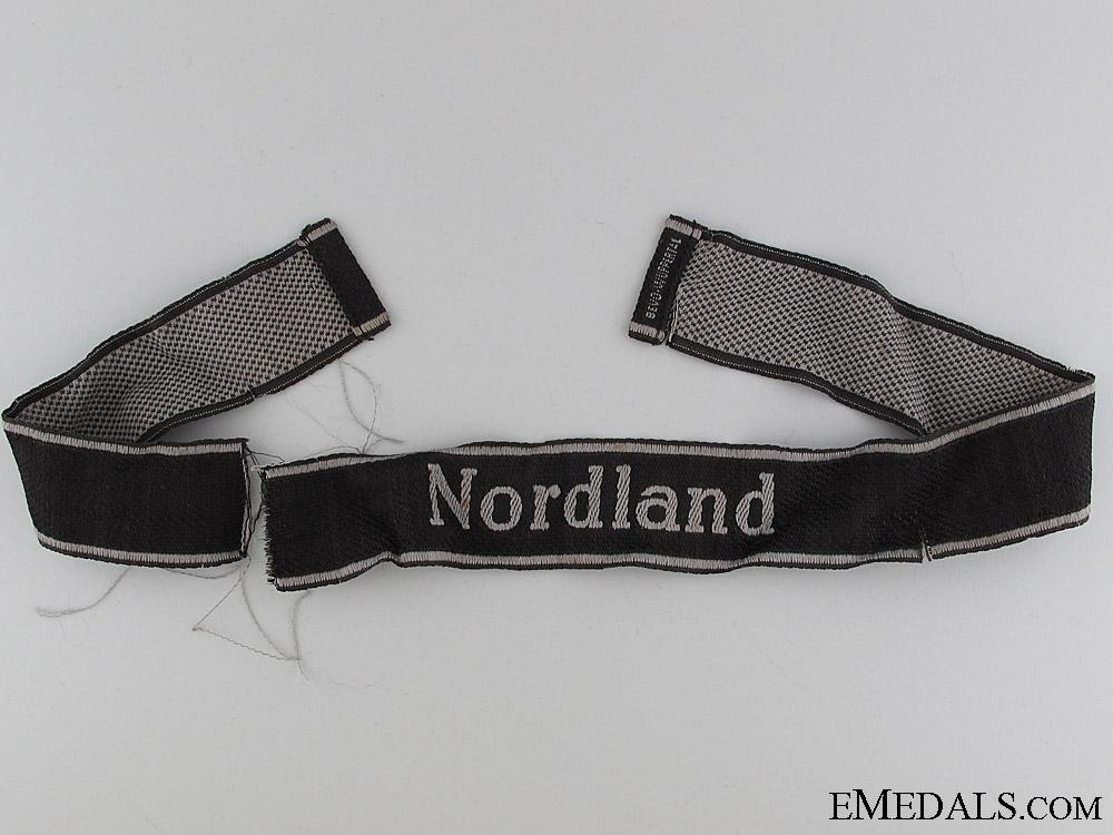 "eMedals-Waffen-SS ""Nordland"" Cufftitle"
