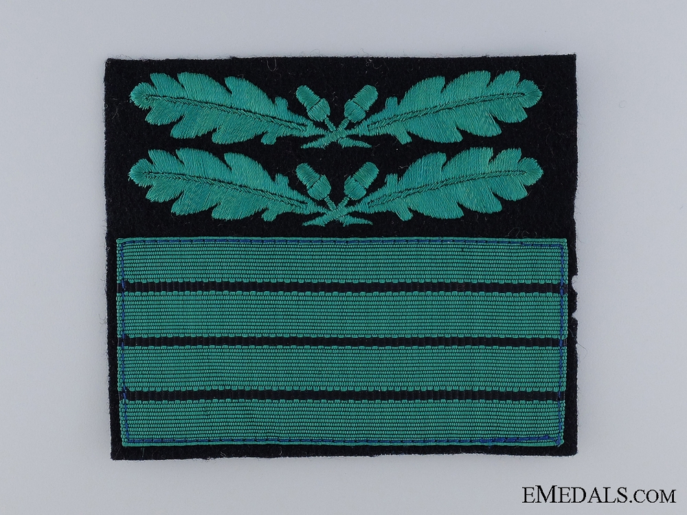 eMedals-Waffen-SS Cuff Rank Badge for Oberführer (Senior Leader)