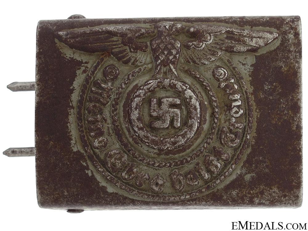 eMedals-Waffen SS EM/NCO's Steel Belt Buckle