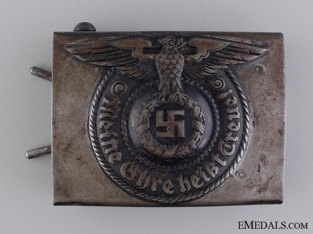eMedals-Waffen SS EM/NCO's Steel Belt Buckle by RODO