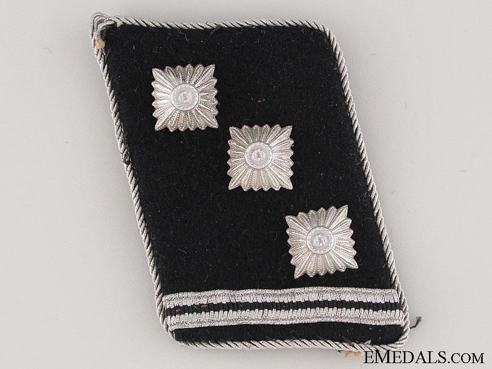 eMedals-Waffen-SS Obersturmführer Collar Tab