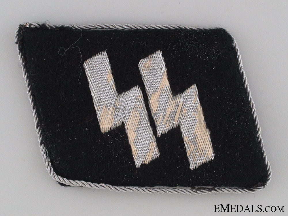 eMedals-Waffen-SS Officer's Single Collar Tab