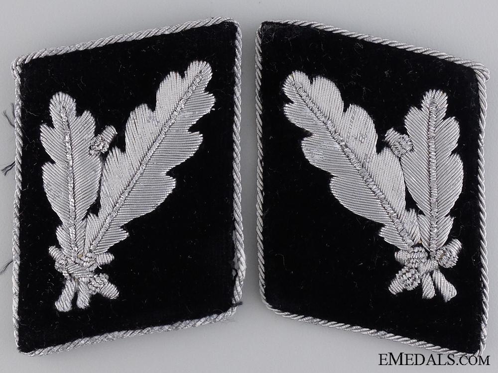 eMedals-Waffen-SS Pair of Collar Tabs for SS-Oberführer