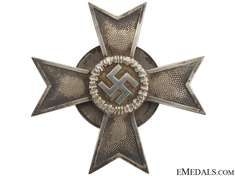 eMedals-War Merit Cross 1st Class by Wilhelm Deumer