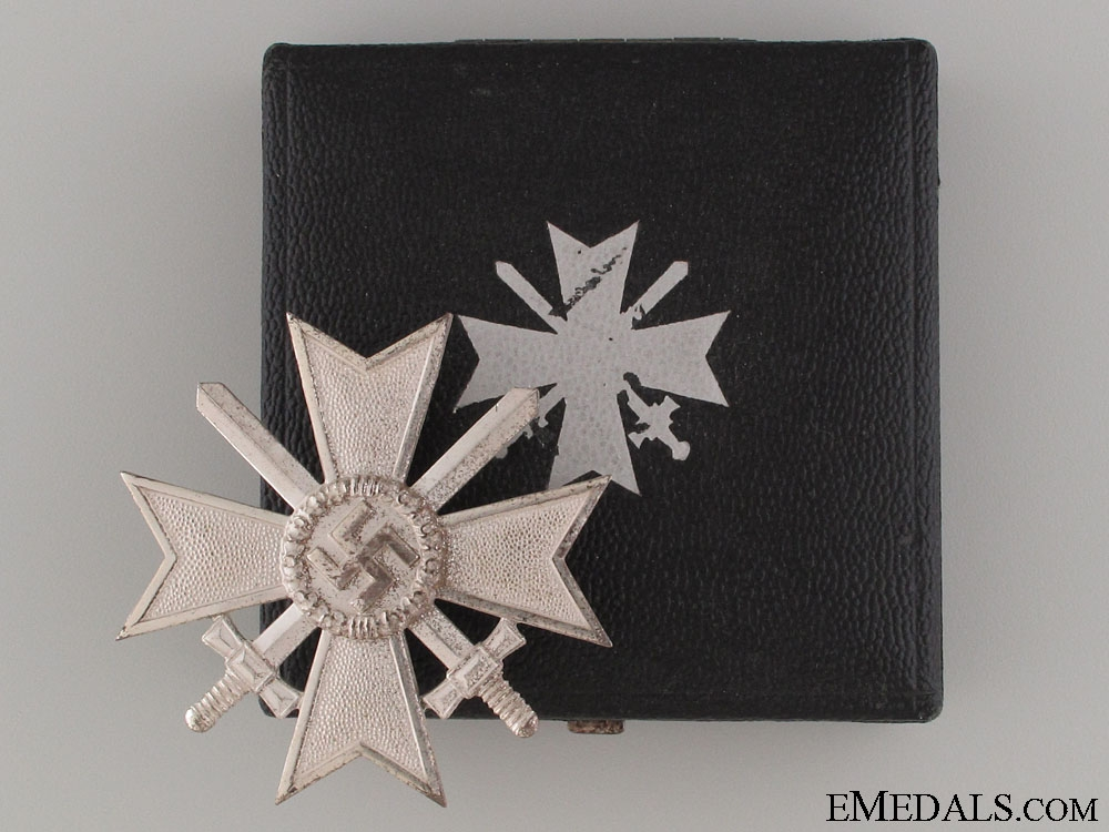 eMedals-War Merit Cross 1st Class with Swords - Marked