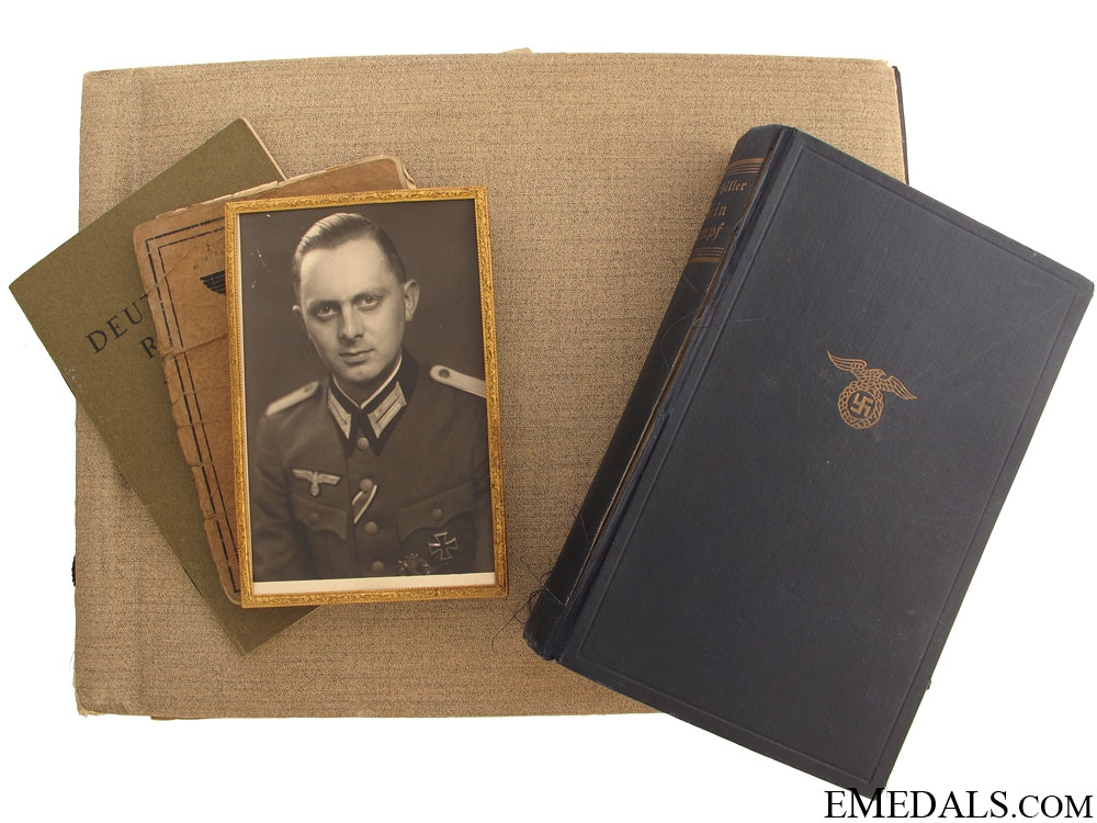 eMedals-Wehrmacht Group to Oberleutnant Rautenberg