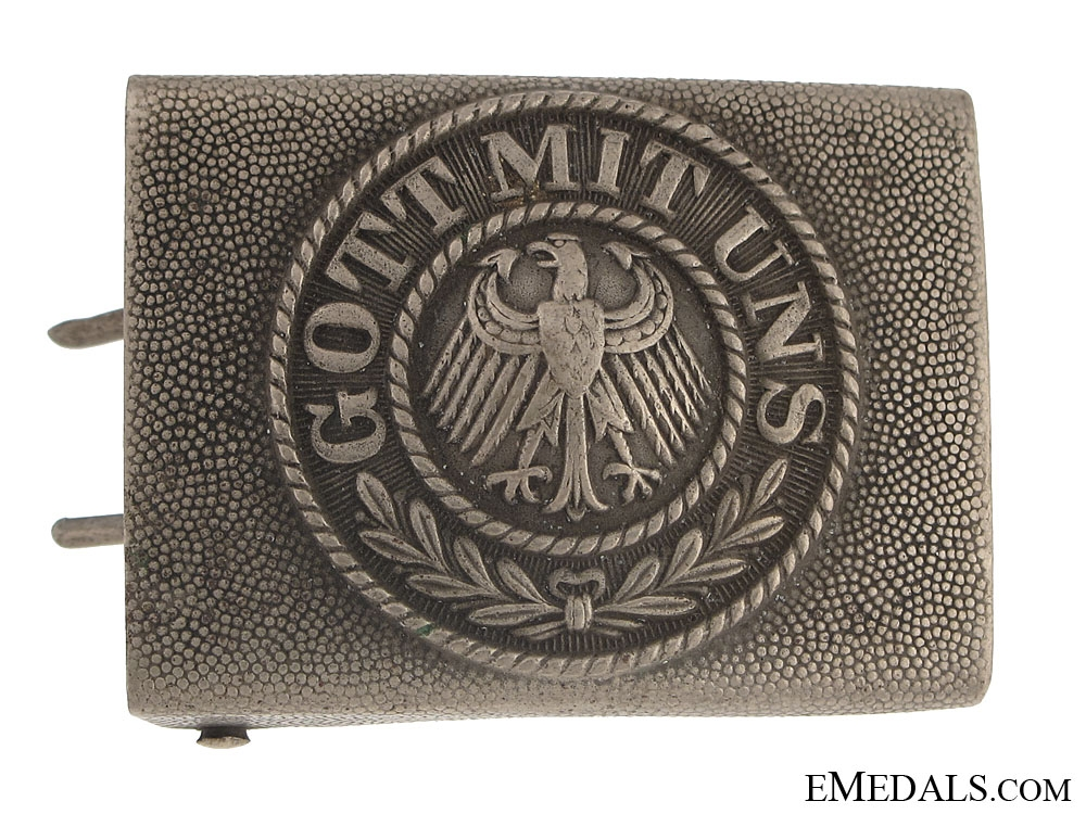 eMedals-Weimar Republic Army Best Buckle