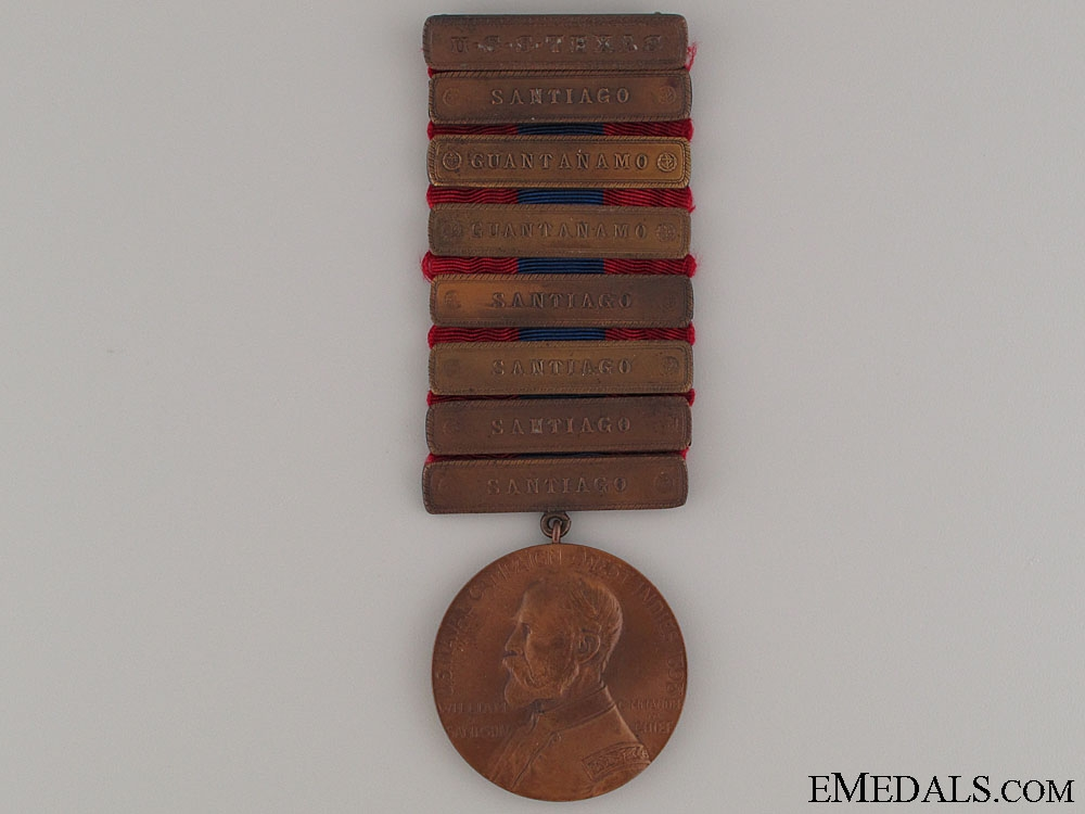 eMedals-West Indies Naval Campaign Medal - USS Texas