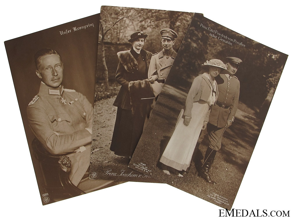 eMedals-Wilhelm II Royal Family Postcards