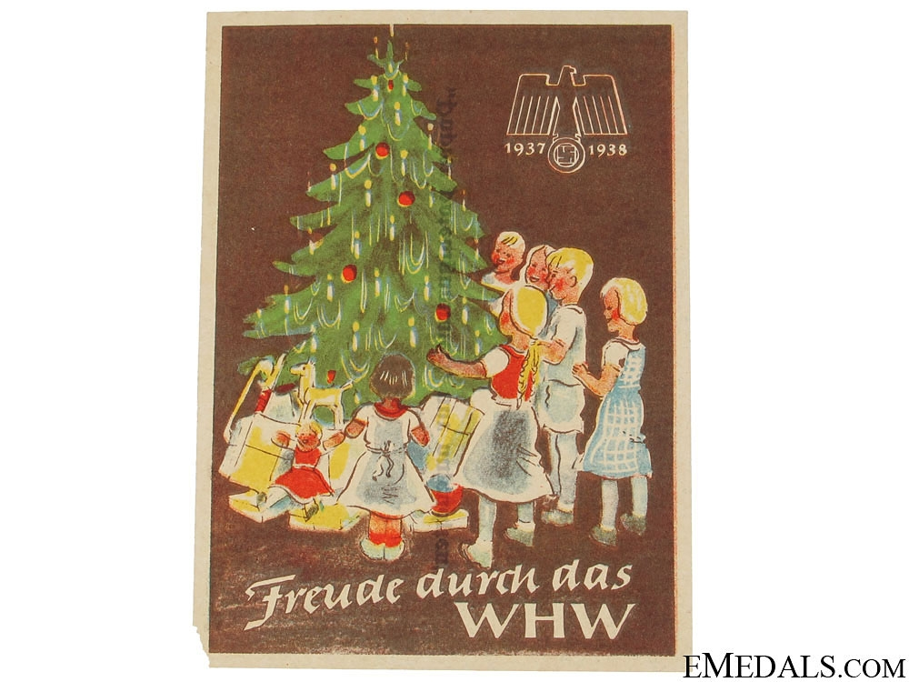 eMedals-Winterhilfswerk (WHW) Achieving Joy Handout, 1937-1938